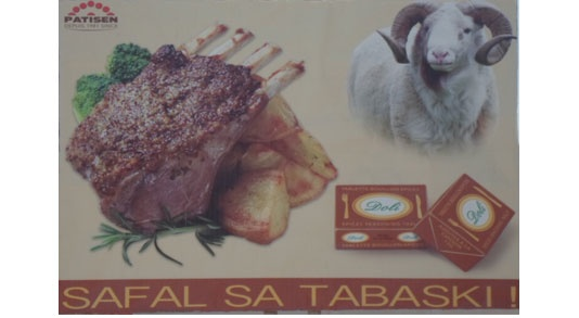 Affiche bouillon Doli de Patisen campagne Tabaski (octobre 2012)