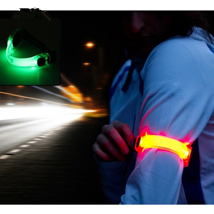 New Arrival Big Sale 2pcs/Set Portable MTB Bike Bicycle Leg Arm Led Light Outdoor Night Cycling Running Party Sports Waistband