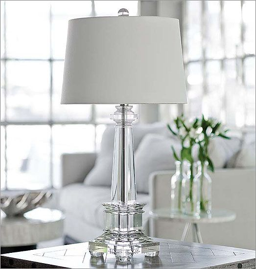Regina Andrew Crystal Obelisk Lamp: Regina Andrew Design Redefines  Contemporary Style. With An Artists