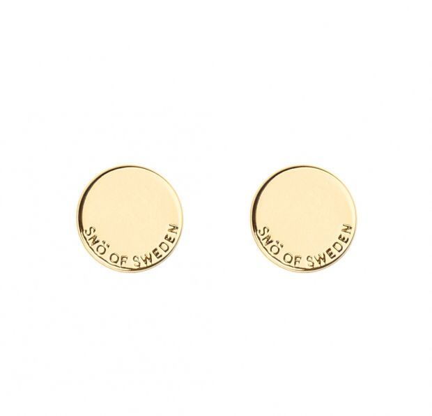 Eileen coin ear plain örhängen av Snö of sweden Guld 199:-