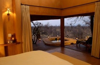 Rhulani Safari Lodge - [Room overlooking private plunge pool] North West Province - Africa
