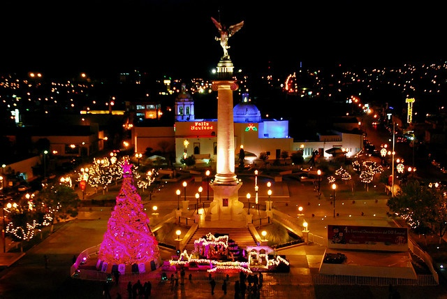 I love going to Chihuahua Mexico because that is where my dad grew up and that side of the family lives over there and its nice to see where my dad grew up and where he went to school. I also get to learn something new about my heritage everytime I get to go.