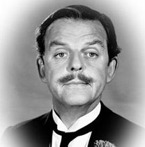 David Tomlinson, actor 1917-2000 - I remember him most from Mary Poppins.  He played the children's father.  RIP David.