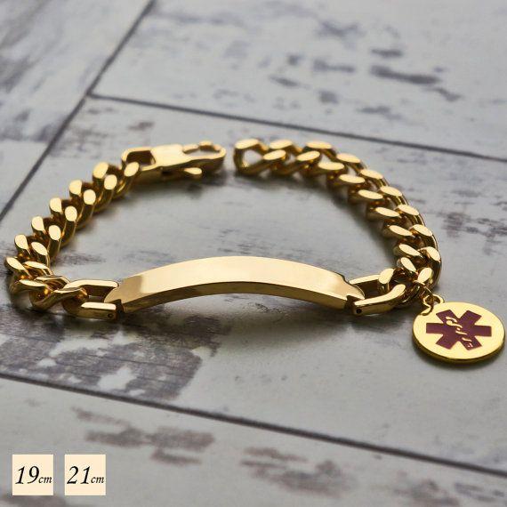 Medical ID Bracelet - Medical Alert Bracelet - Emergency Bracelet