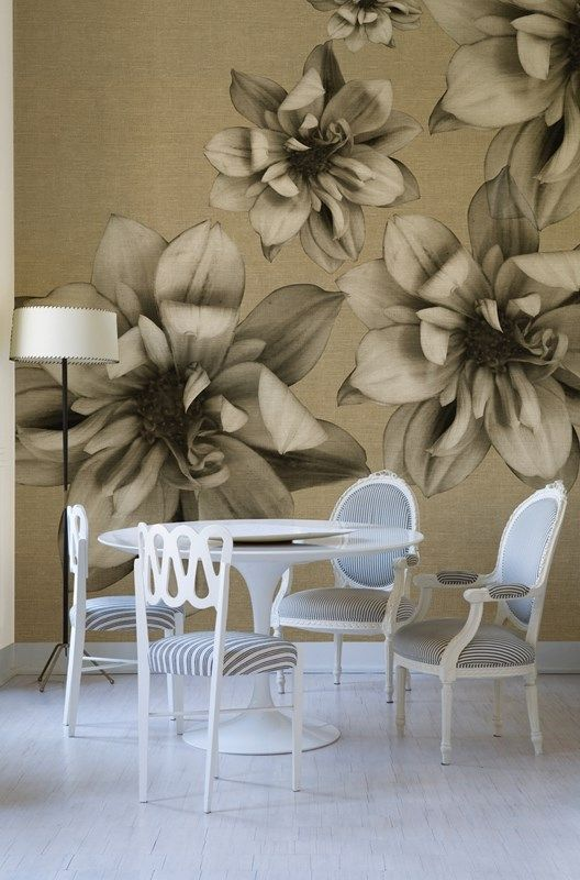 Flowers poetry - Wall&Deco