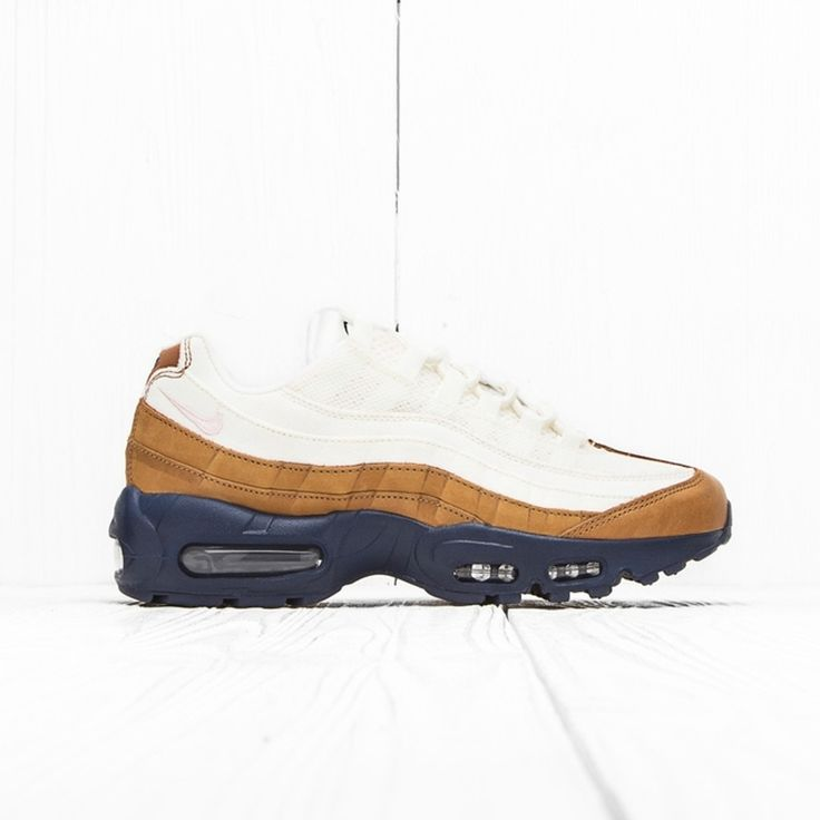 Nike Nike Air Max 95 Prm Ale Brown/Midnight Navy/Sail/Pearl Pink 538416 200 8 Us Size 8 $286 - Grailed