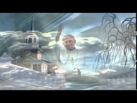 Św.Jan Paweł II~Spójrz z góry Ojcze Święty-Karolina i Adam Krawczyk