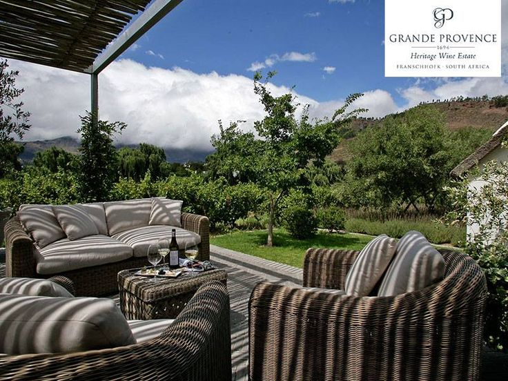 Superbly located to take every advantage of the Western Cape's famed Winelands region, nestled amongst the vineyards of a 300 year-old heritage wine estate, is La Provençale Villa in the Vineyards.  Link: http://ow.ly/9wY7304o65e