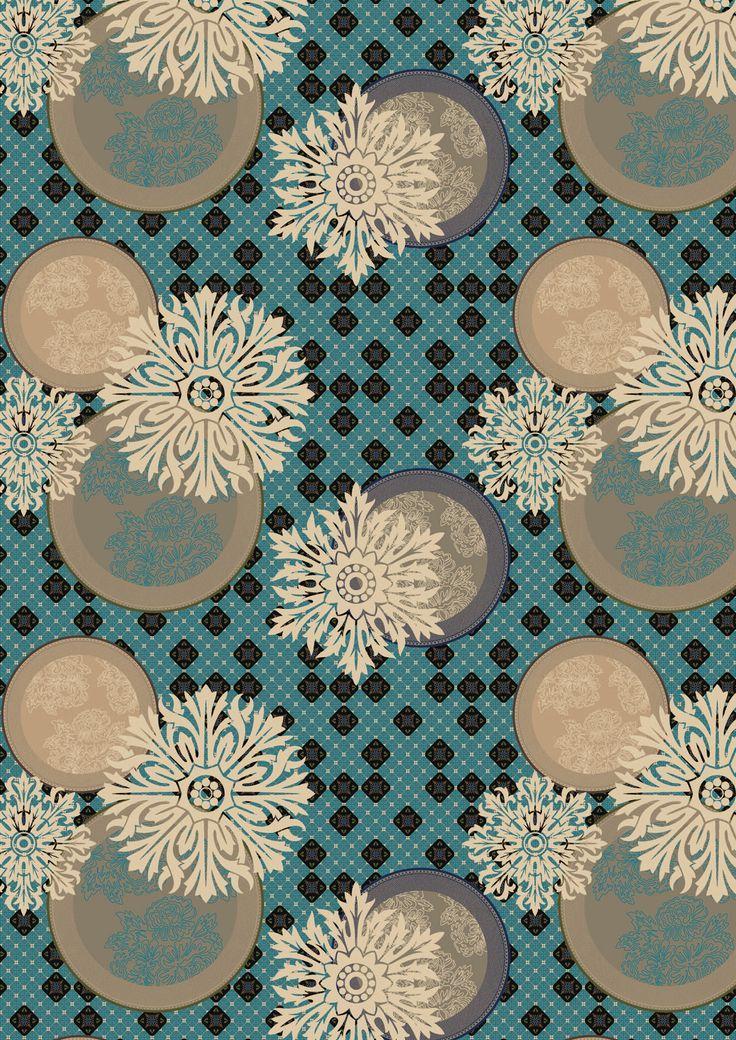 Speel met tapijtontwerp Bodice van Floorfashion by Muurbloem (egecarpets) en creëer een design vloerbedekking die perfect aansluit bij je interieur.