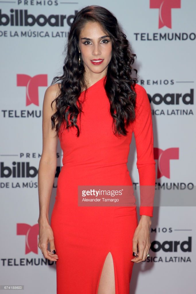 Sandra Echeverría attends the Billboard Latin Music Awards at Watsco Center on April 27, 2017 in Coral Gables, Florida.