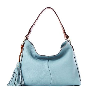 Dooney And Bourke Italian Pebble Leather Hobo Love The Light Blue Boho Pinterest Handbags Purses