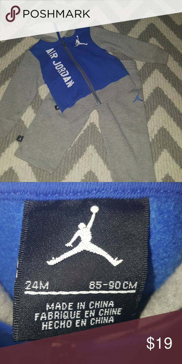 Air Jordan Sweat Suit They grow so fast, as you know! Only worn a few times! Jordan Matching Sets