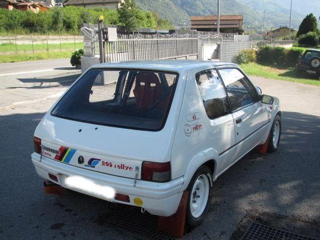 #Peugeot #205 #Rally