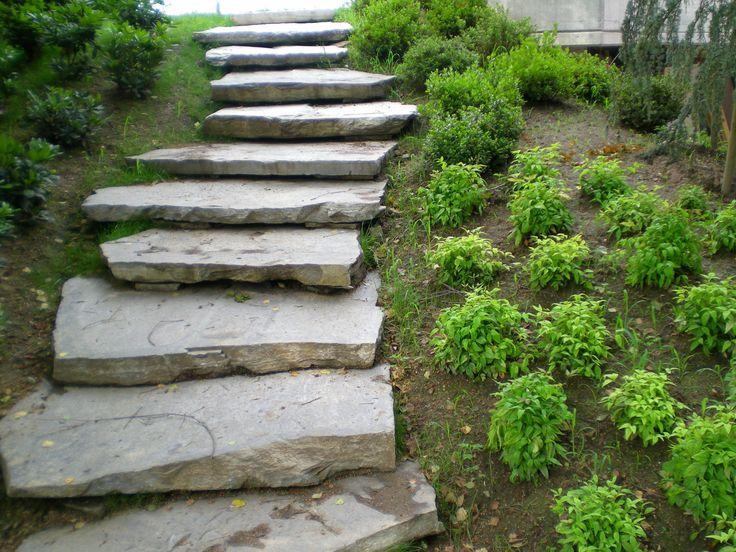 17 migliori idee su scale da giardino su pinterest - Muri da giardino ...