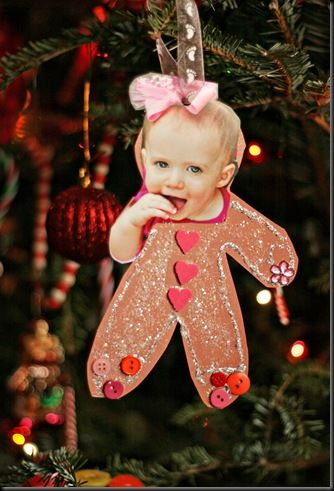 kids handmade ornament