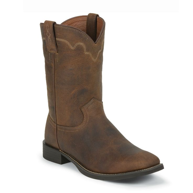 Justin Men S Stampede Roper Boots Fashion Men Boots
