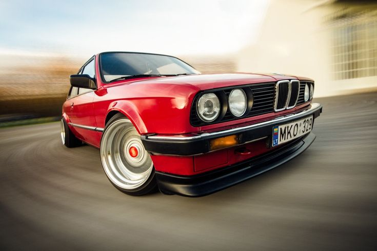 Old Cars Cars Muscle Cars Sports Car Drift Lighter Evening BMW BMW E30