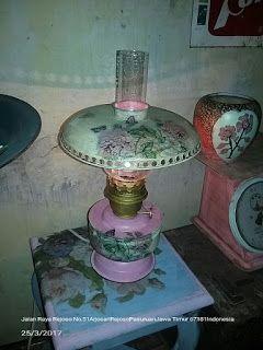 Cantik Artshop: Lampu minyak lawas diy