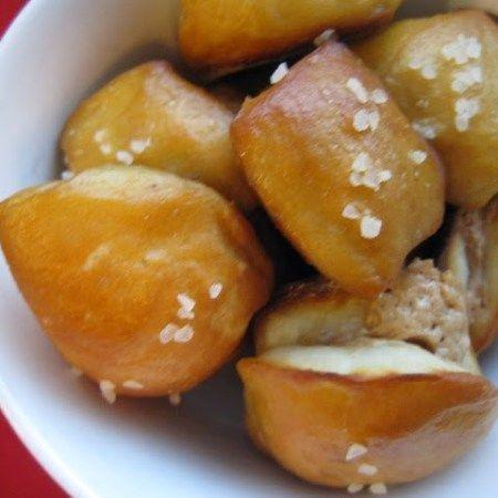 Peanut Butter Filled Pretzel Bites