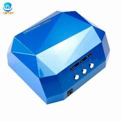 [ 19% OFF ] 36W Sensor Led Ccfl Nail Dryer Diamond Shape Curing Lamp Machine For Uv Gel Nail Polish