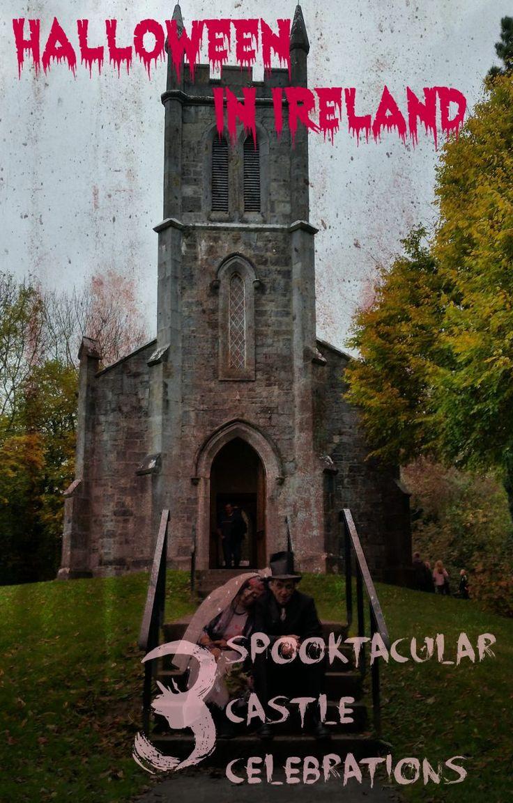Halloween in Ireland. 3 Castle Celebrations you shouldn't miss! Ireland travel tips | Ireland vacation | IrelandFamilyVacations.com