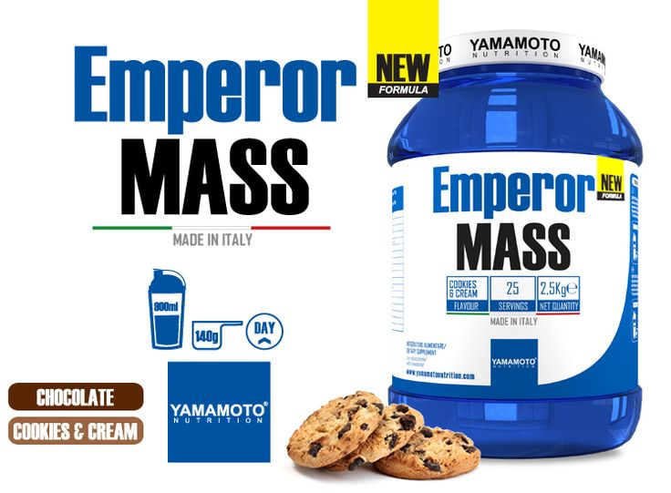#Yamamoto #nutrition #suplimente -  #Emperor #MASS - 2.5 kg #pret #masa #musculara #proteine