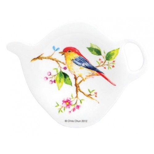 Vogel tree of life theezakjes houder van Ashdene Designed by Chris Chun  Op zoek naar een leuk cadeau voor de vogel liefhebber?  Deze met een prachtige vogel afbeelding is een mooi klein cadeau