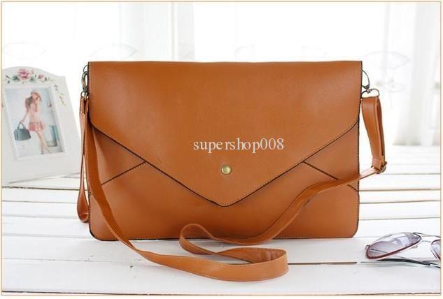 women ma'am lady Handbag Shoulder Aslant Bagenvelope clutch envelope bag High Quality 5 colore 10/lot on TradeTang.com