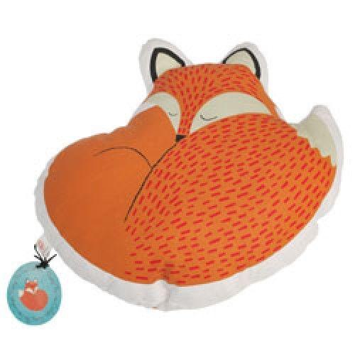 Slaapwel-rusty the fox kussen-rusty the fox-Rex-7576-Deze lieve vos kan niet wachten om je kinderkamer op te vrolijken. Is het nu een knuffel of een kussen? We laten deze beslissing over aan jou kinderen