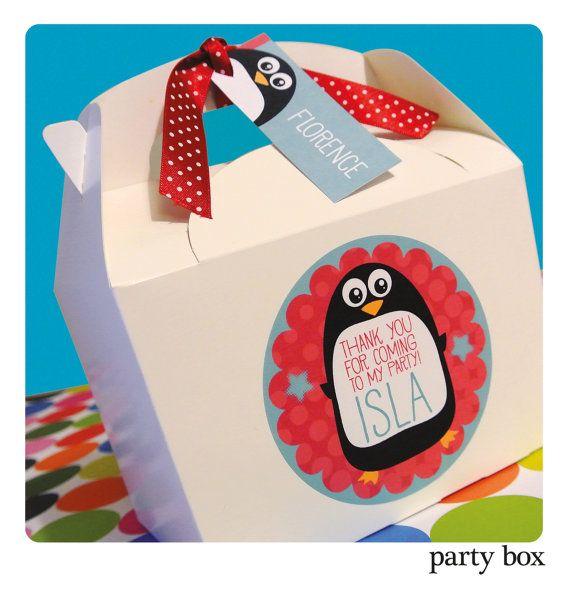 Personalised Childrens PENGUIN Birthday Party by OrangePaperDuck, £1.50