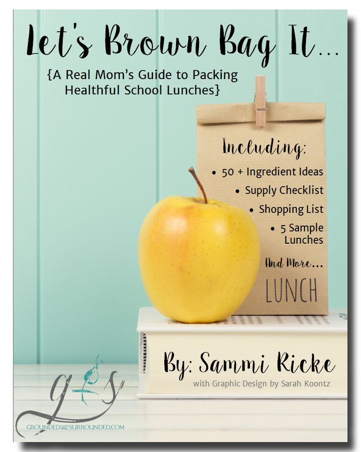 A Real Mom's Guide to Packing Healthy School Lunches   This article gives you 5 practical and easy make ahead tips complete with our favorite recipes + a 7 page FREE printable that includes: supply checklist, shopping list, and 5 sample menu ideas (even for your picky eaters!)! Packing lunches for kids every day isn't for the faint of heart, but we have everything you need!