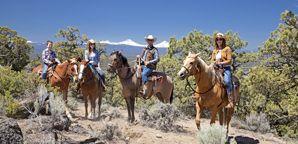 Bend Oregon Horseback Riding Trails   Brasada Ranch   Oregon Horseback Riding in Bend Oregon
