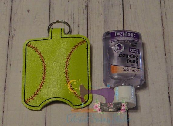 Hand Sanitizer Holder Multi Deal Hand Or Case Baseball