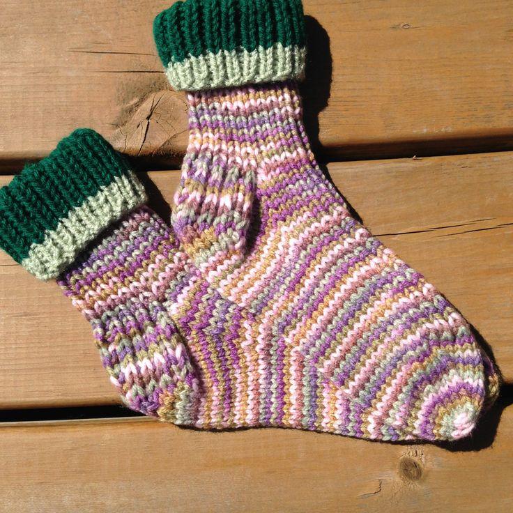 Size 5-6, Knitted Socks, Warm Winter Socks by Bahde on Etsy