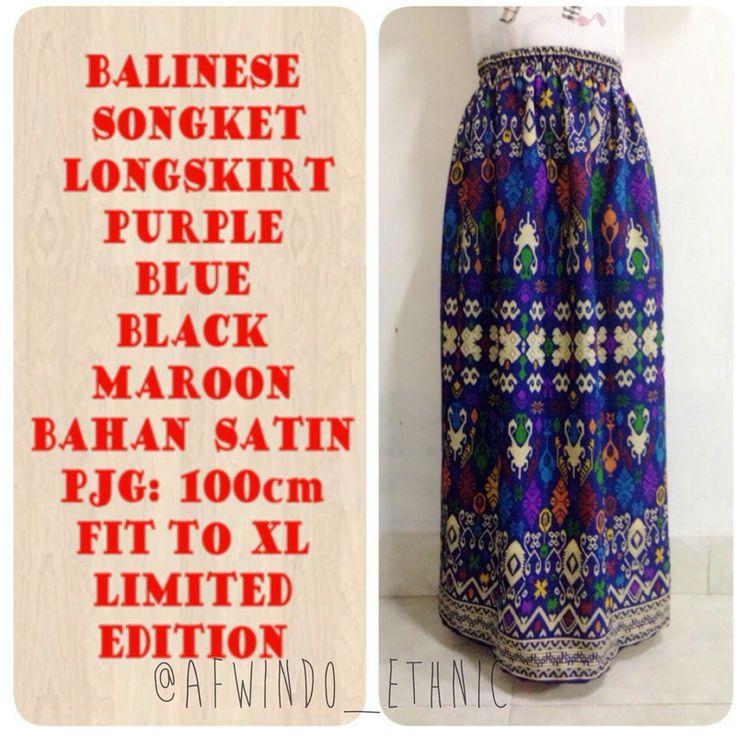 RK093-local balinese songket Long skirt - https://www.afwindo.com/shop/skirt/rk093-local-balinese-songket-long-skirt/