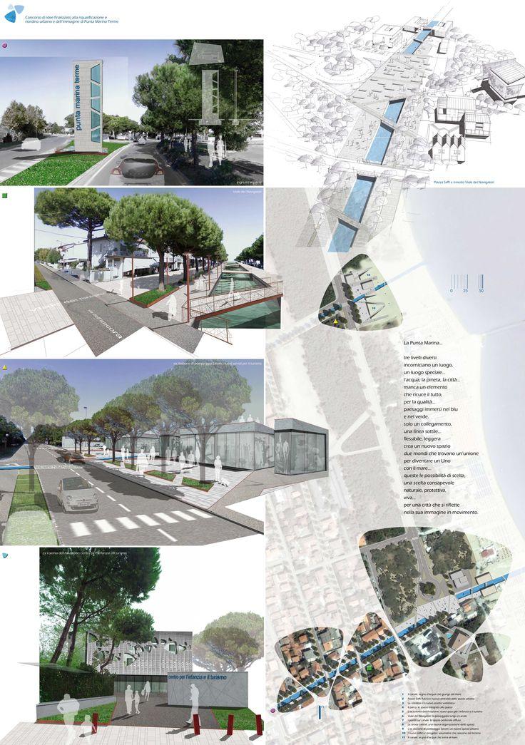 Riqualificazione e riordino urbano e dell'immagine di Punta Marina Terme. Ravenna