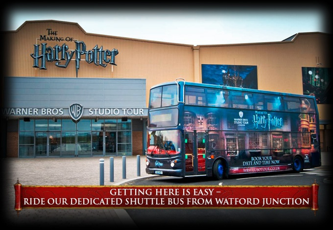 Warner Bros. Studio Tour London – The Making of Harry Potter. Step onto the famous cobbles of Diagon Alley, featuring the shop fronts of Ollivanders wand shop, Flourish and Blotts, the Weasleys' Wizard Wheezes, Gringotts Wizarding Bank and Eeylops Owl Emporium.