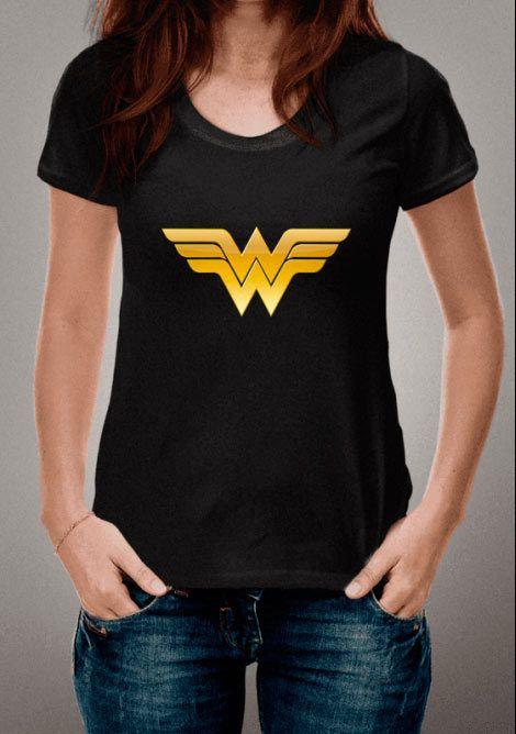 cafcdfc674 Camiseta Padrão Mulher Maravilha #mulhermaravilha #camiseta #feminina # maravilha #mulher #carnaval #carnaval2018