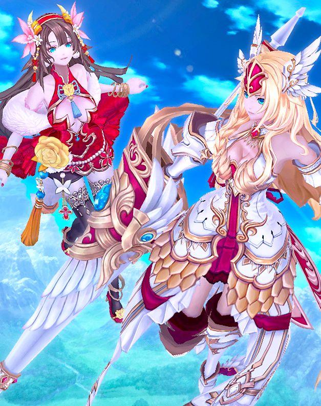 Aura Kingdom - Diao Chan & Astraea
