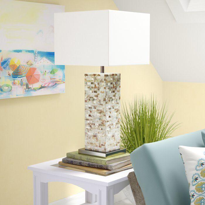 Beachcrest Home Loralee Pearl 30 Table Lamp Reviews Wayfair Table Lamp Lamp Living Room Lighting