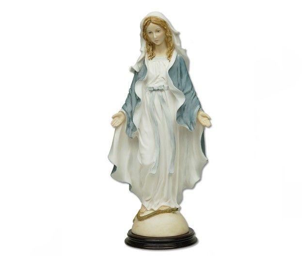 Statua Madonna Miracolosa in Polvere di Marmo