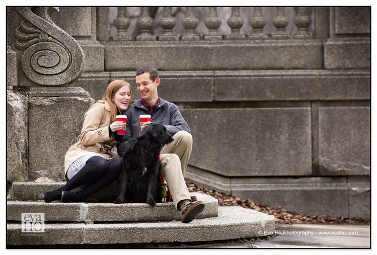 What better thing to do on this #cold and #rainy day than curling up with your loved one(s) with a hot drink in hands?  #Starbucks #Coffee #Dogoftheday #Chicagoengagementsession #ChicagoPhotographer #ChicagoEngagementPhotographer #ChicagoSouthLoop #Instadog #LazyDay #InstaLove