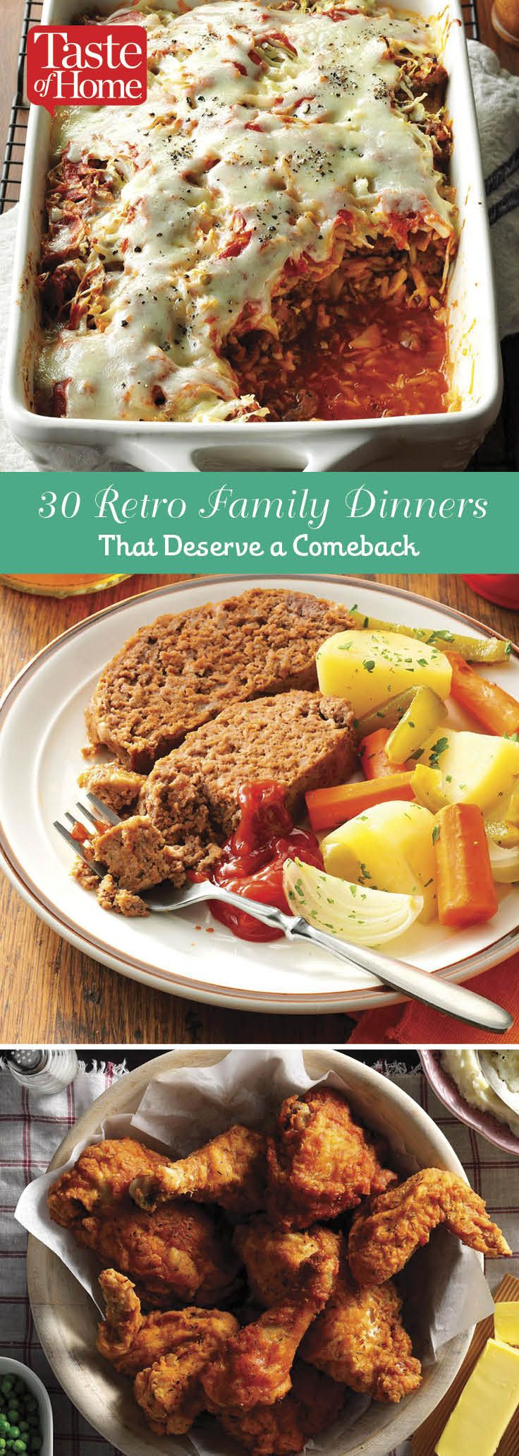 30 Retro Family Dinners That Deserve a Comeback