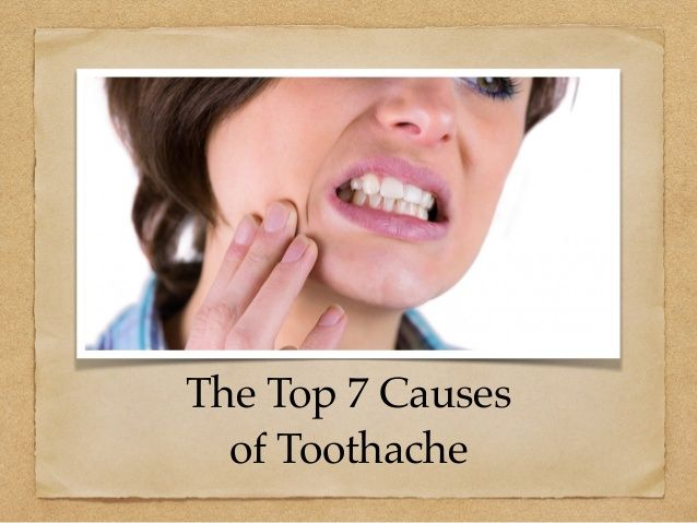 The Top 7 Causes of Toothache allsmilesdentalpractice.com.au
