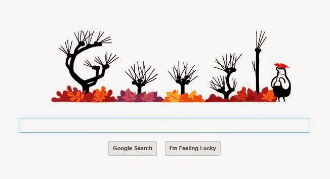 Music and Inspiration: #GoogleDoodle : First Day of #Autumn
