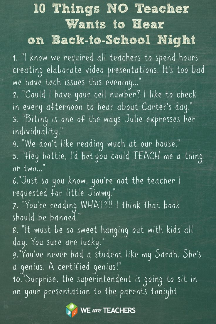 best images about back to school night meet the teacher open 10 things no teacher wants to hear on back to school night