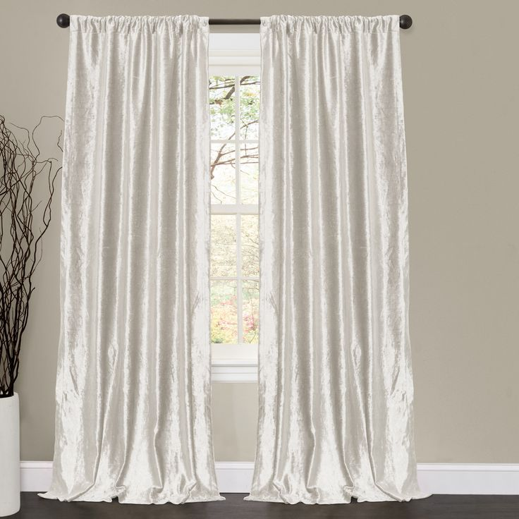 The Best Rod Pocket Curtains Ideas On Pinterest Rod Pocket - Classic ball fringe curtains