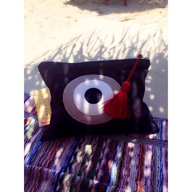 handmade bags Christina Malle in Mykonos! #evileyeproject #hashtag#new‪#ss2015‬#collection‬#fashion‬ ‪#evileye‬‪#clutch‬‪#bags‬#summer‬‪#crafts‬‪#christinamalle_bags#fashion#style#vscocam#instafashion#instalike#sunmeringreece#greekdesigners#madeingreece