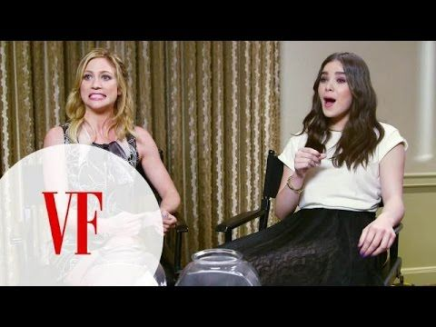 The Cast of Pitch Perfect 2 Imitates Famous People Doing Everyday Things - YouTube