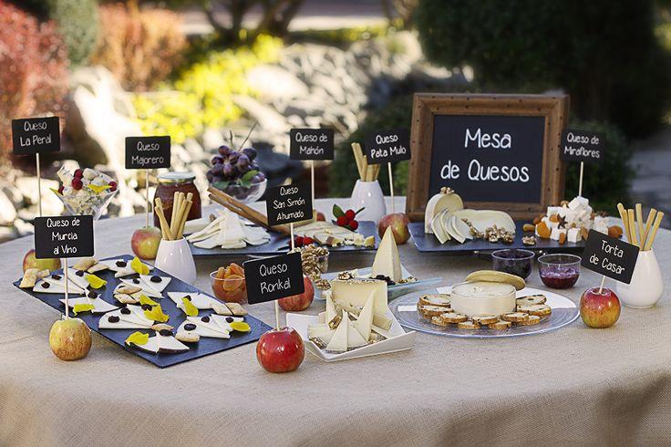 mesa de quesos para boda - Buscar con Google